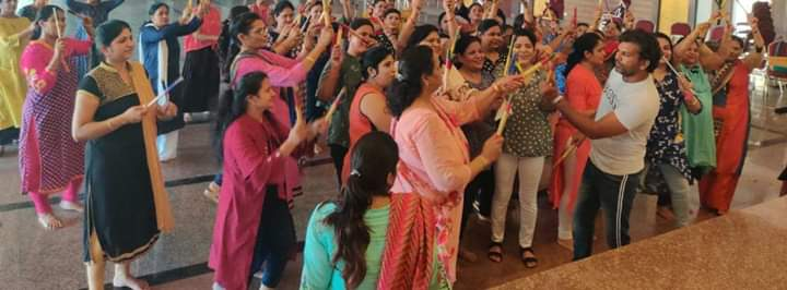 Sanskriti group hisar dandiya workshop