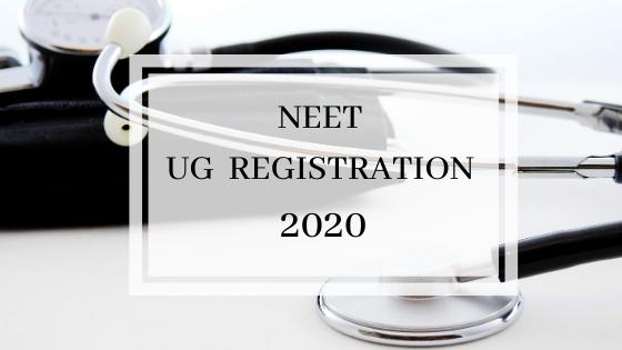 NEET registration 2020