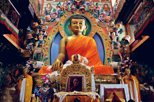 Buddha Statue at monastery