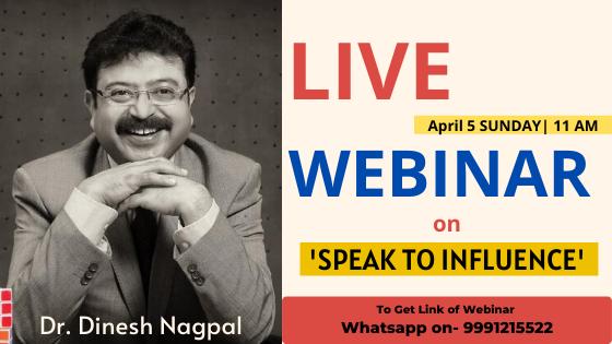 Live webinar Dr. Dinesh Nagpal